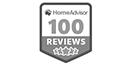 HomeAdvisor 100 Review Status