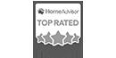 HomeAdvisor TOP RATED AWARD